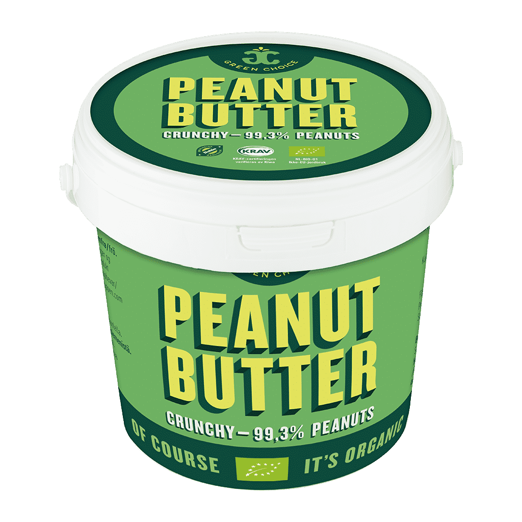 green choice peanut butter crunchy